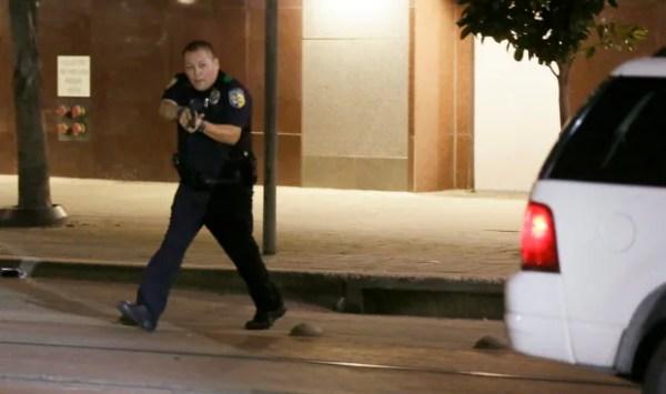 Dallas Shooting Protest