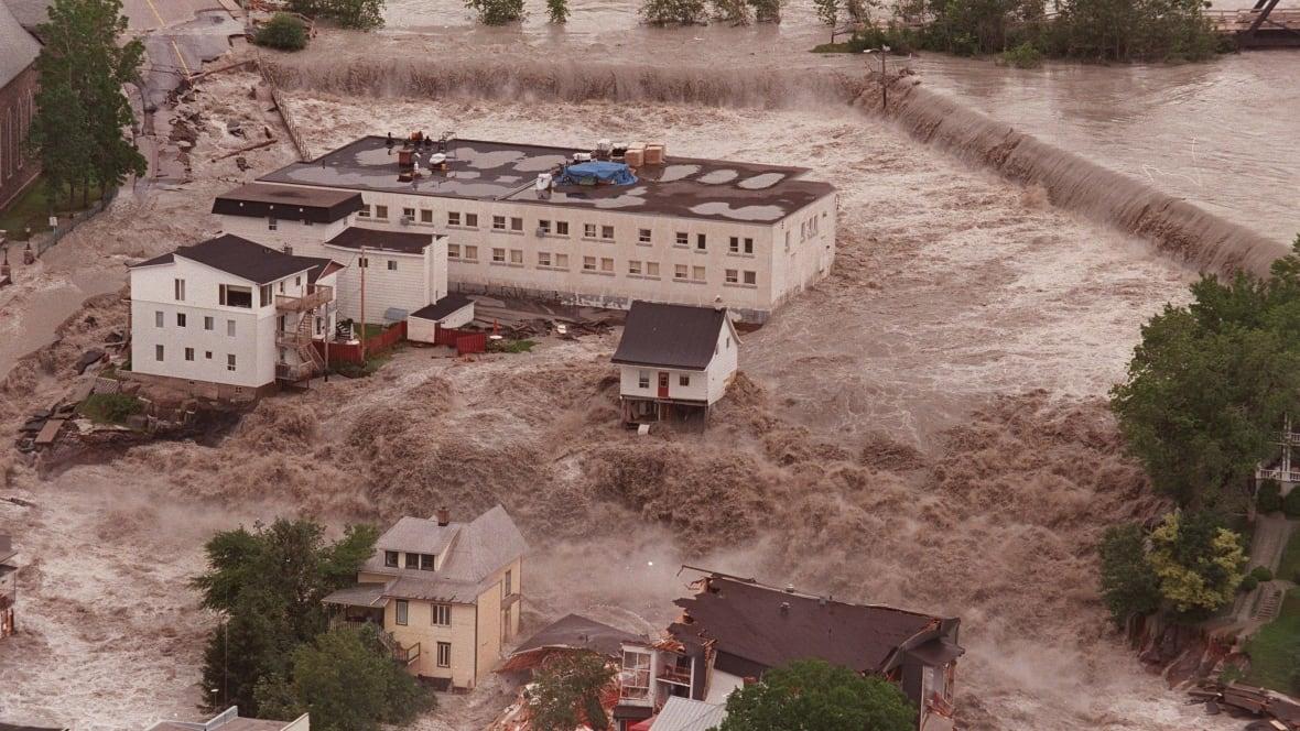 Devastating Flood In Quebecs Saguenay Region Remembered