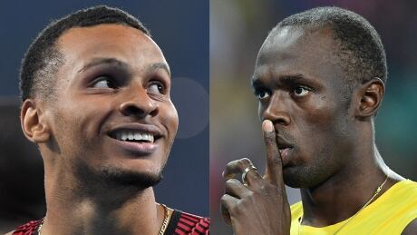 Bolt and De Grasse composite