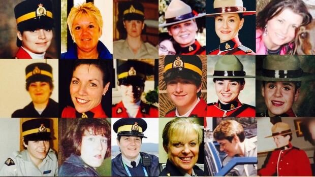 Some of the 500 female RCMP officers and civilians who have made allegations ranging from gender-based discrimination to sexual assault on the job.