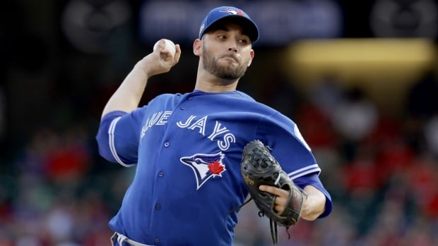 The Toronto Blue Jays have beaten the Texas Rangers 10-1 in Game 1 of the American League Division Series. Marco Estrada allowed one run on four hits and struck out six over 8 1/3 innings as Toronto took a 1-0 lead in the best-of-five series.