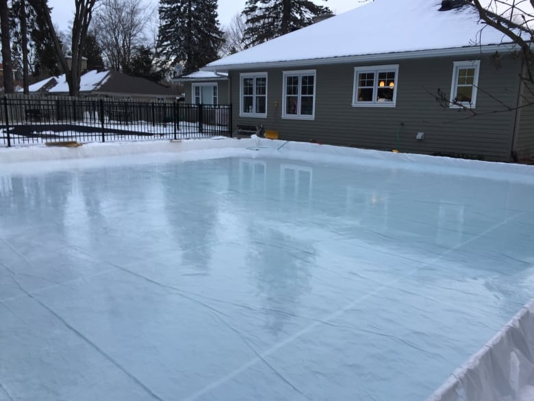 How to build the perfect backyard ice skating rink  CBC News