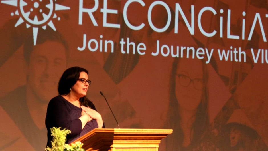Dr. Tracey Lindberg explores reconciliation in a lecture at Vancouver ...