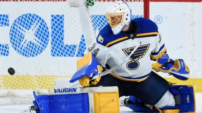 Jake Allen Playoffs Martin Brodeur St. Louis Blues Minnesota Wild