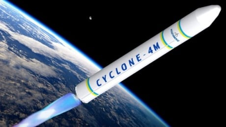 Maritime Launch Cyclone 4