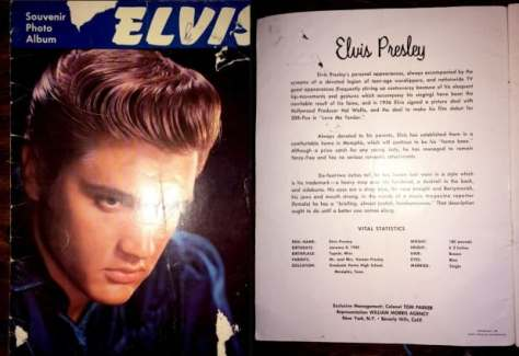 Elvis Presley Souvenir Program Ottawa