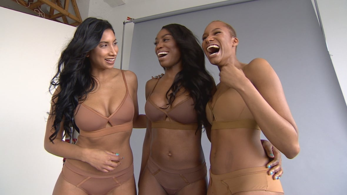 For us by us Nude lingerie for women of colour was