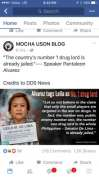 Mocha Uson blog post about Senator de Lima