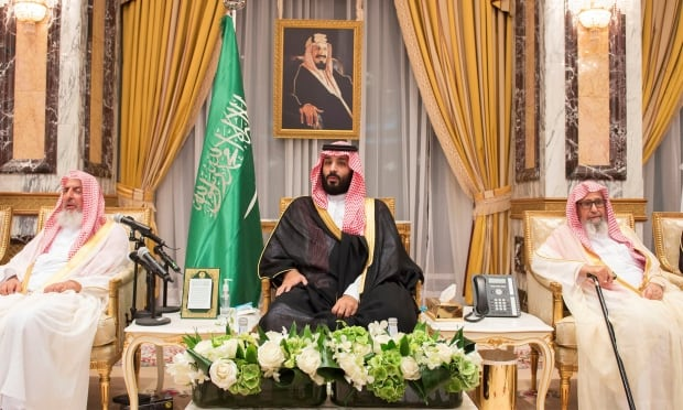 Saudi Arabia's Crown Prince Mohammed bin Salman RTS189EN