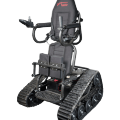 Action Track Chair Glider Rocker Replacement Cushions Gander Outdoorsman Eyes All Terrain Wheelchair Thanks To Sister Is Made In Canada And Lets Users Go Off Road With Custom Features Including Holders For A Gun Fishing Rod