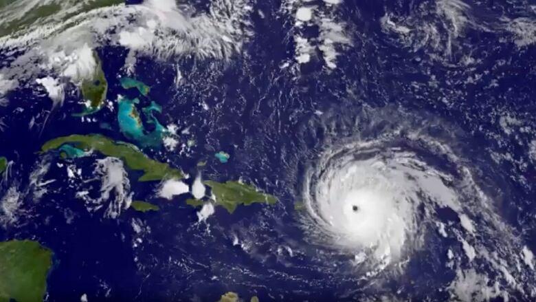 how hurricane irma became