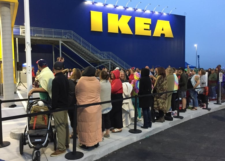Here Are Some Of The People Who Waited Hours For Ikea To