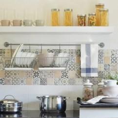 Kitchen Back Splash Glass Door Cabinets Give Your Backsplash A Facelift With This Simple Tiling Diy