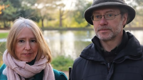 Sally Lane and John Letts at home in Oxford, England
