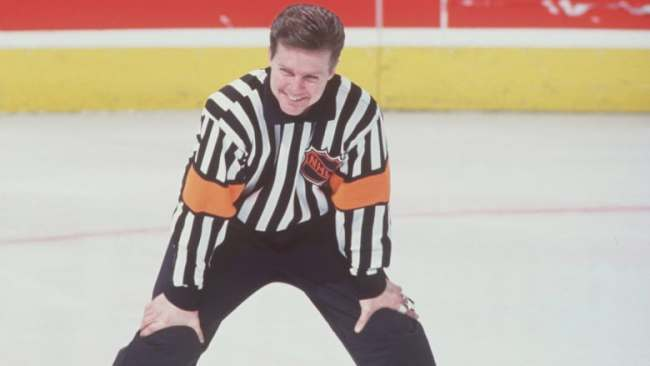No referee can ever match Kerry Fraser's hair