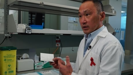 John Kim, PHAC HIV scientist