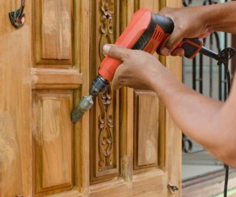 Locksmith drill