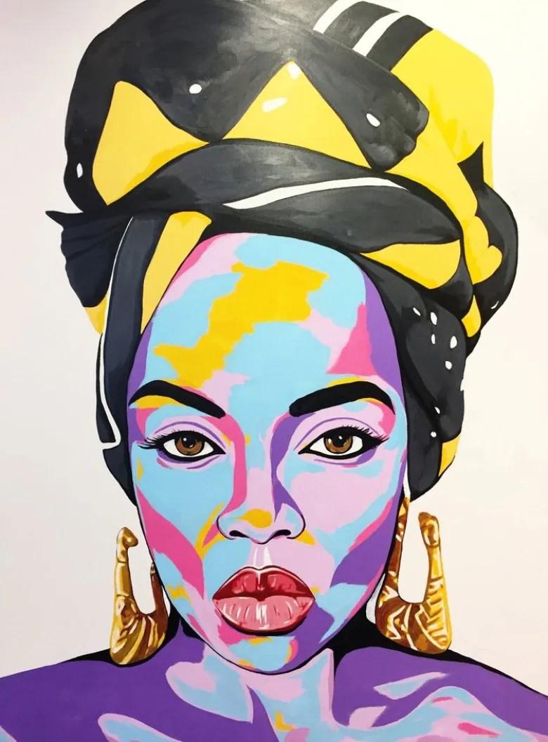 Benny Bing Nefertiti 2018 Courtesy of the artist