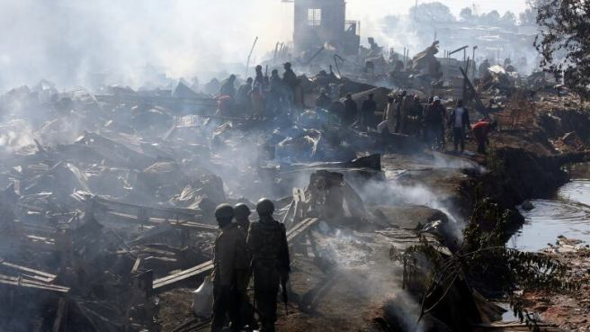 Image result for Fire kills 15, injures 70 in Central Nairobi