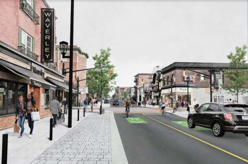 small resolution of slower livelier bike friendly latest plans for elgin street transformation revealed cbc news