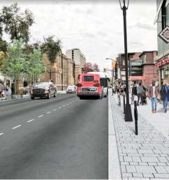 slower livelier bike friendly latest plans for elgin street transformation revealed [ 1180 x 668 Pixel ]