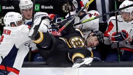APTOPIX Capitals Bruins Hockey