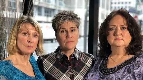 Helen Henderson, Vicki Gravelle and Sylvie Corriveau