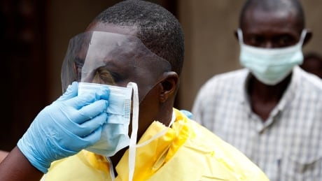 Ebola health-care workers in Congo