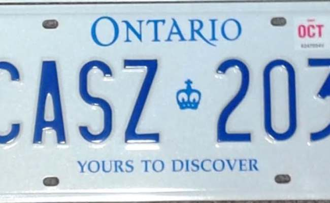 Ontario S New Licence Plate Slogan Will Be A Place To