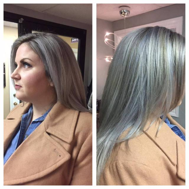 island women are embracing their grey hair   cbc news