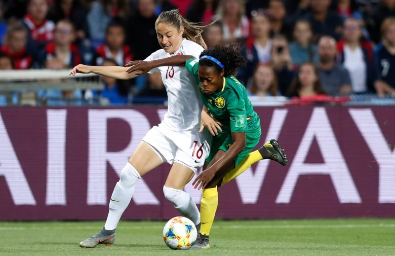 canada cameroon 061019 - Kadeisha Buchanan's goal holds up as Canada shuts out Cameroon in opener
