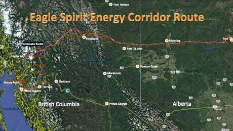 Eagle Spirit pipeline corridor