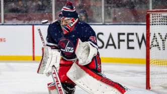 Image result for winnipeg jets heritage classic 2019 game