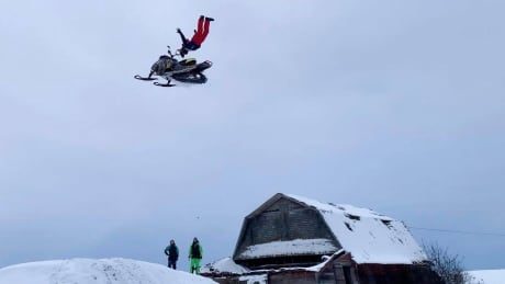Dave England Snowmobiling