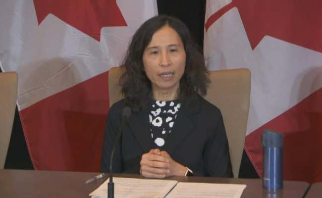Dr Theresa Tam Canada S Chief Public Health Officer