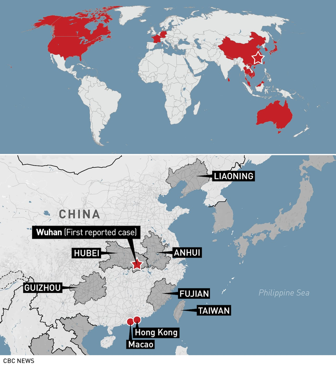 Coronavirus deaths in China rise to 132 with confirmed cases ...