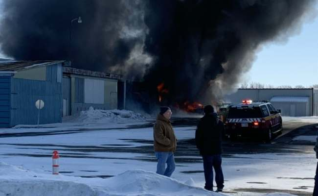 It Was Like A Movie Scene Explosion At Stoney Creek
