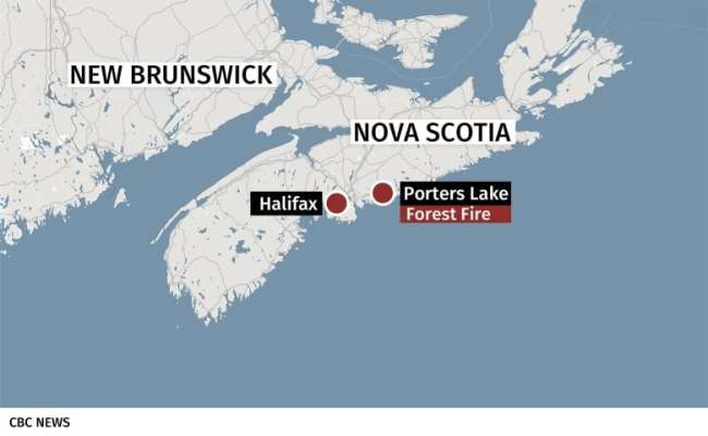 All Crews Pulled From Woods Of Porters Lake Brush Fire For