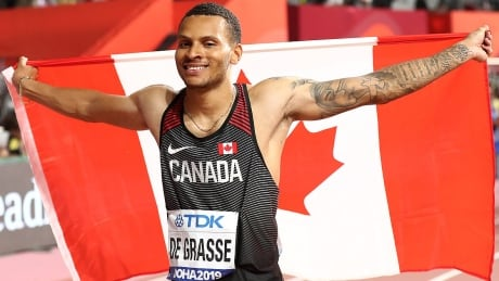 Watch Andre De Grasse compete in the 2020 Inspiration Games 9