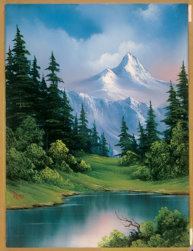 Bob Ross Company : company, World's, Biggest, Museum, Exhibition, Paintings., How'd, B.C.?