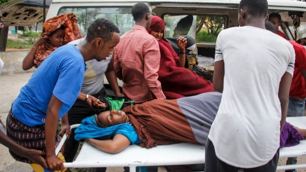 Dozens injured in attack on hotel in Somalia's capital | CBC News