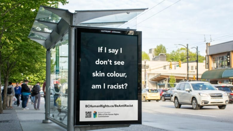 'Am I racist?': Billboard poses question as rise in hate crimes prompts public awareness campaign