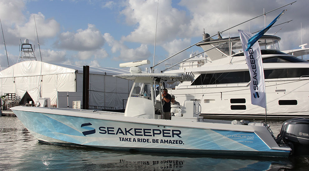 Seakeeper Revolutionizes Boating  FISHTRACKCOM