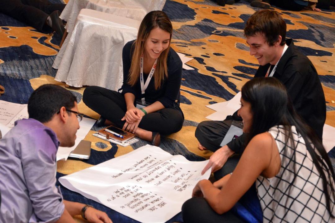 Youth Speak Forum 2. Credit: AIESEC Italia