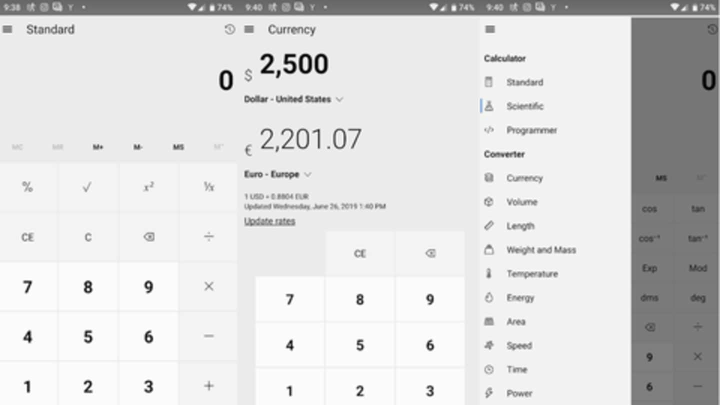 Now, use Windows 10 calculator on Android, iOS: Here's how