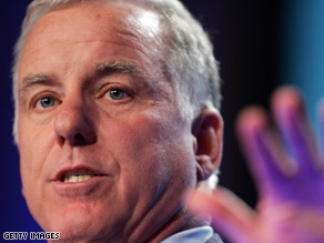 DNC Chairman Howard Dean targeted Sen. John McCain Sunday on CNN's Late Edition.