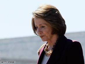 Pelosi said Tuesday a so-called 'Dream Ticket' won't happen.
