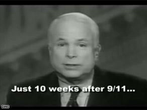 The DNC is taking aim at McCain.