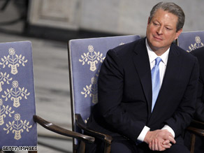 Gore said Sunday he does not anticipate getting involved in the presidential race.