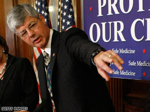 Stupak is proposing a new plan to seat Michigan's delegates.